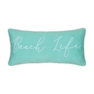 "Carol & Frank ""Beach Life"" Oblong Throw Pillow"
