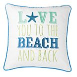 "C&F Home ""Beach"" Throw Pillow"