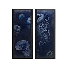 Madison Park Signature Jellyfish Wall Art 2-piece Set