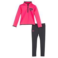 Baby Girl Under Armour Fleece Pullover & Performance Leggings Set