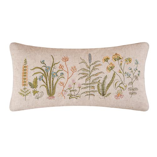 Carol & Frank Anessa Floral Oblong Throw Pillow