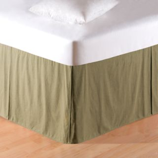 Carol & Frank Green Mini Check Bedskirt