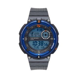 Casio Men's Twin Sensor Digital Watch - SGW600H-2AK