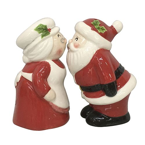 St. Nicholas Square® Santa Salt & Pepper Shaker Set