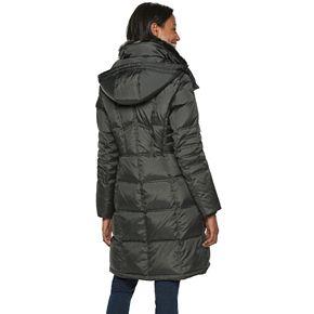 Women's TOWER by London Fog Faux-Fur Collar Down Puffer Coat