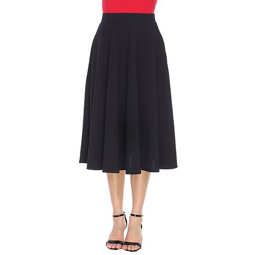 entire collection newest style choose official Women's White Mark Midi Skirt