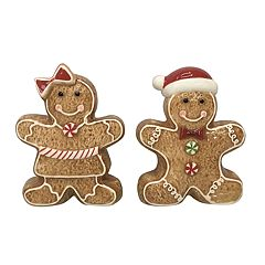 St. Nicholas Square® Gingerbread Salt & Pepper Shaker Set