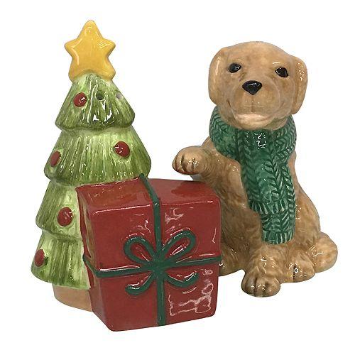 St. Nicholas Square® Holiday Dog Salt & Pepper Shaker Set