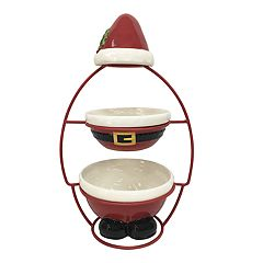 St. Nicholas Square® Tiered Santa Server