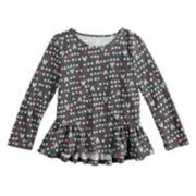 Toddler Girl Jumping Beans® Pattern Tee