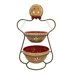 St. Nicholas Square® Tiered Gingerbread Server