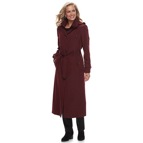 Women's TOWER by London Fog Belted Trench Coat