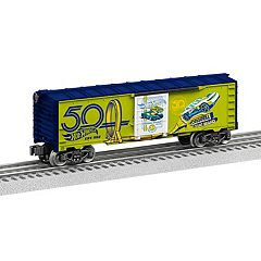 Hot Wheels 50th Anniversary Green Boxcar by Lionel