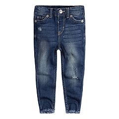 Baby Girl Levi's® 710 Super Skinny Frayed-Hem Jeans
