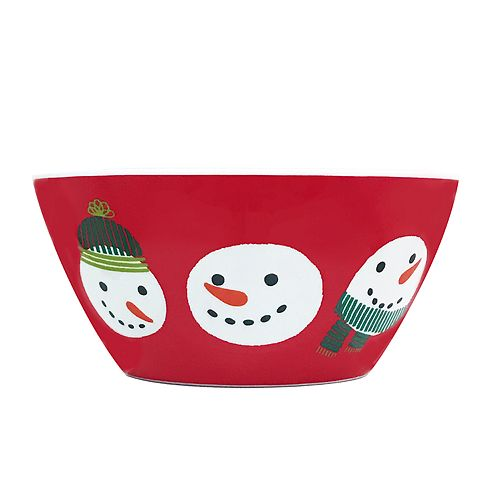 St. Nicholas Square® Snowman Cereal Bowl
