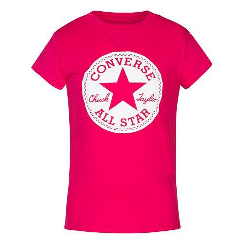 d7ca597ae Girls 7-16 Converse Chuck Taylor All Star Signature Tee