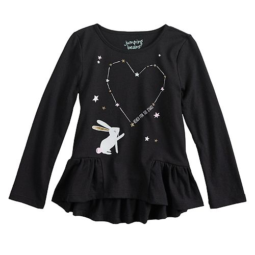 Toddler Girl Jumping Beans® Reach for the Stars Tee