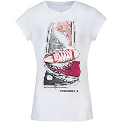 Girls 7-16 Converse Stacked Chuck Taylor All Star Tee
