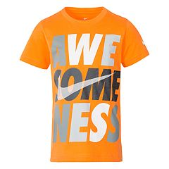 Boys 4-7 Nike 'Awe-some-ness' Logo Graphic Tee