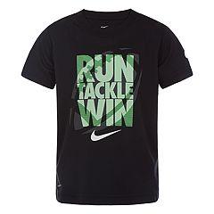 Boys 4-7 Nike 'Run Tackle Win' Logo Graphic Tee