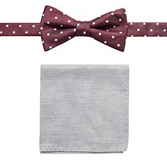 482e7e19c451 Men's Apt. 9® Pre-Tied Bow Tie and Pocket Square Set