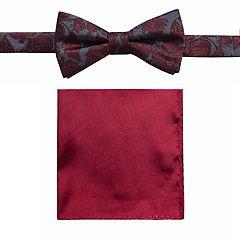 b36c6fc69a64 Men's Apt. 9® Pre-Tied Bow Tie and Pocket Square Set