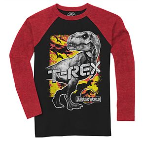 Boys 8-20 Jurassic World T-Rex Tee