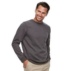 Men's Croft & Barrow® Classic-Fit Easy-Care Stretch Fleece Sweatshirt