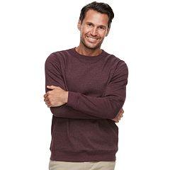 Men's Croft & Barrow® Classic-Fit Easy-Care Stretch Fleece Sweatshirt