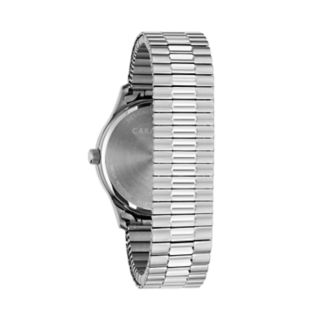 Caravelle Men's Stainless Steel Expansion Watch - 43B161