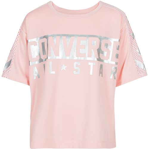 Girls 7 16 Converse Chuck Taylor All Star Reflective Tee