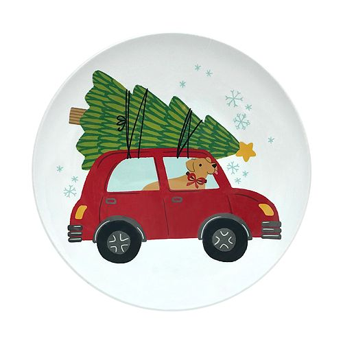 St. Nicholas Square® Car Dinner Plate