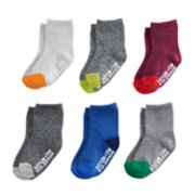Baby / Toddler Boy Stride Rite 6-pack Crew Socks