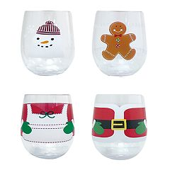 St. Nicholas Square® 4-pc. Iconic Wine Glass Set