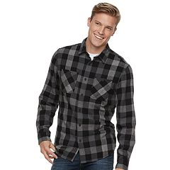 Men's Urban Pipeline™ Flannel Button-Down Shirt
