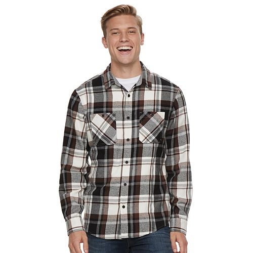Men's Urban Pipeline™ Flannel Button-Down Shirt