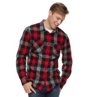 Men's Urban Pipeline? Flannel Button-Down Shirt