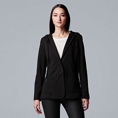 Women's Simply Vera Vera Wang Hooded Blazer