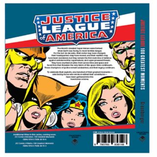 DC Comics Justice League 100 Greatest Moments Book