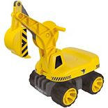 Aquaplay Power Worker Maxi Digger Ride-On