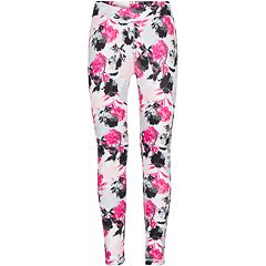 Girls 7-16 Converse Floral Athletic Leggings