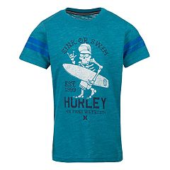 Boys 4-7 Hurley Detroit Striped Tee