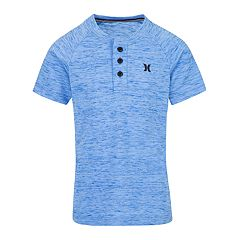 Boys 4-7 Hurley Cloud Slubbed Henley Tee
