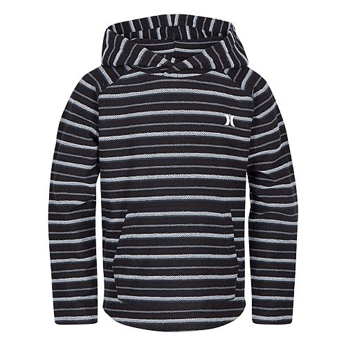 Boys 4-7 Hurley Striped Pullover Hoodie