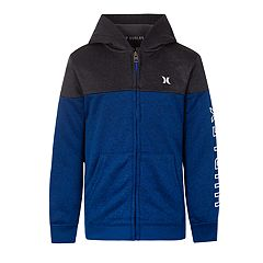 Boys 4-7 Hurley Dri-FIT Colorblock Solar Zip Hoodie