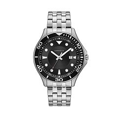 Caravelle Men's Stainless Steel Dive Style Watch - 43B162