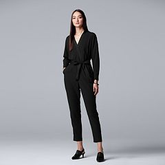 Women's Simply Vera Vera Wang Faux-Wrap Jumpsuit