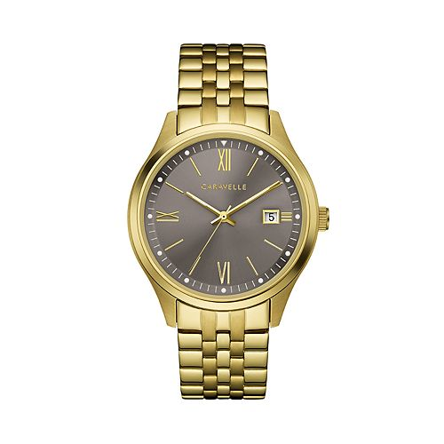 Caravelle Men's Stainless Steel Watch - 44B122
