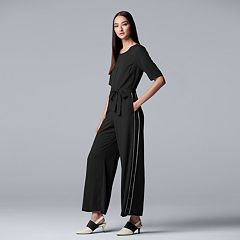 Women's Simply Vera Vera Wang Side Stripe Jumpsuit
