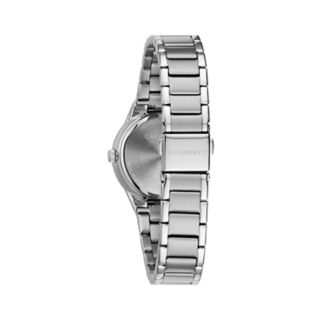 Caravelle Women's Diamond Accent Stainless Steel Watch - 43P110